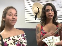 Girls next door becoming very sinful for cash