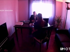 Portuguese Fetish job Interview