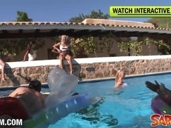 Saboom Video: Big Birthday Partyfuck In Ibiza