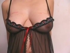 mature woman with lovely natural breasts fucked by her hubby