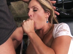 Angela Attison and James Deen hardcore drilling