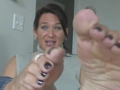 Foot Fetish with Delicious mother I'd like to fuck