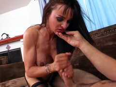 Cytherea is being fucked hard by her boyfriend big and fat cock