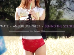 Behind the Scenes Miss January 2016 Amberleigh West - PlayboyPlus