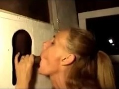 Older Glory Hole Suck and Fuck Vid