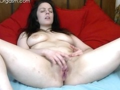 The Female Orgasm: Eva Uses Her Fingers
