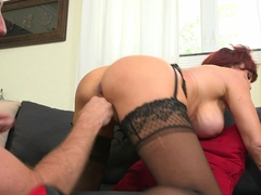 Best pornstar in Fabulous Stockings, Big Tits xxx clip