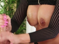 Best pornstars Jamie Stone, Britney Amber in Crazy Big Tits, Facial sex movie