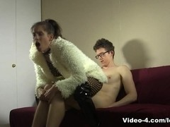 Fur Coat Bodystocking Sex