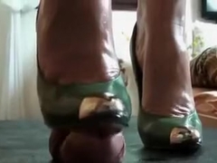Fabulous homemade Ballbusting, High Heels xxx movie