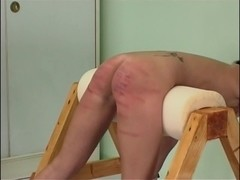 Awesome hot babes in group caning video