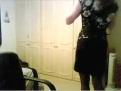 Horny amateur shemale scene with Webcam, Stockings scenes