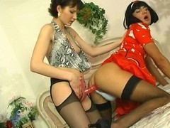 StraponSissies Clip: Meggy C and Gilbert
