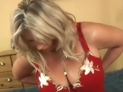 Busty Curvy Milf With Blonde Bush by KR