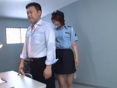 Alluring Asian chick Nanami Kawakami is police costume