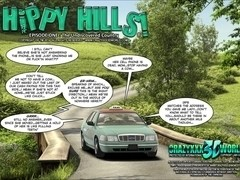 3D Comic: Hippy Hills. Episode 1