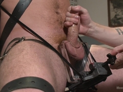 Officer Maguire edged and gets an electric buttplug for the first time