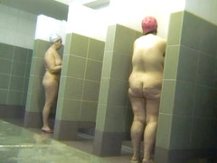 Hot Russian Shower Room Voyeur Video  52