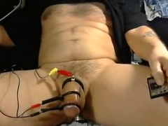 hands free electro cum with pumping butt plug