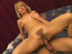 Blondes Aged shaggy fuck