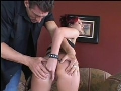 Ass With Anal Beads Gets A Fucking