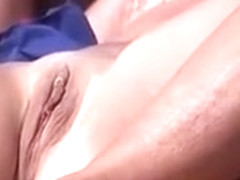 Caring friend gives my wife a pussy massage
