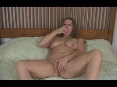 BBW stripping and playing with Bubble Gum