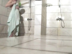 Hot Russian Shower Room Voyeur Video  31