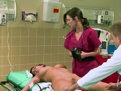 Bill Bailey gets a blowjob from patient Brandy Aniston