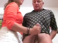 Hottest Homemade video with Big Dick, Handjob scenes