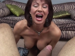 Horny pornstars Vanessa Videl, Johnny Fender in Hottest POV, Cumshots sex clip
