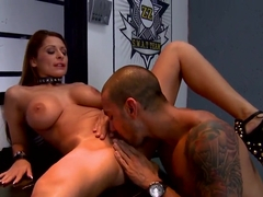 Allison Star and Marco Rivera having sex