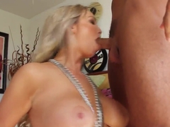Abbey Brooks gets orgasm from sex with Rocco Reed