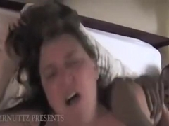 Hubby doesnt wanna fuck his fat wife but loves watching her