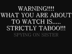 Taboo-Fantasy Catherine Spying On Sister