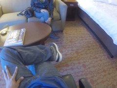 Tony & Jade Jantzen in Hotel Room Spy Glasses Fuck - SpyPOV
