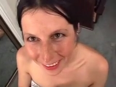 Shaggy bush and frekcled face jew fuck and facial