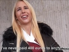 Booby Czech girl Kyra Hot screwed up in exchange for money