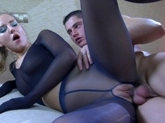 PantyhoseJobs Video: Barbara and Claudius