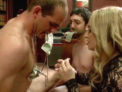 Aiden Starr & Maitresse Madeline Marlowe in Corporate Scum Cfnm Humiliation Take Over: Part 2 - Di.
