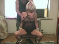 Some precious old fashioned tit slapping