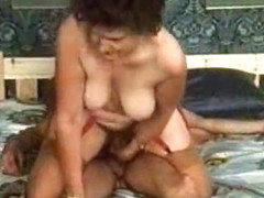 Crazy Homemade clip with Vintage, Threesome scenes