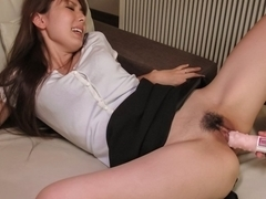Horny Japanese slut Yui Hatano in Best JAV uncensored Blowjob scene