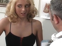 Blond Milf Takes on Robotic Fuck Machine