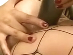 Deep anal with blonde slut