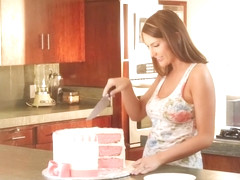 August Ames in Hardcore Birthday Celebration