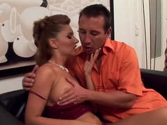 Fabulous pornstar Jessica Girl in exotic blowjob, facial adult scene