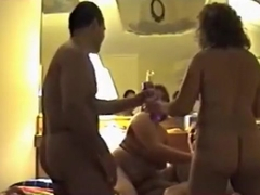 Mature swinger foursome part 2