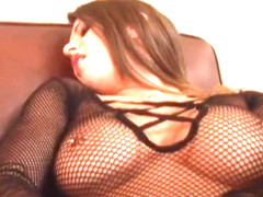 Exotic pornstars Rachel Roxxx and Rachel Starr in best fishnet, brunette sex movie