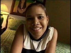 Colombian Ebon Legal Age Teenager - 1St scene